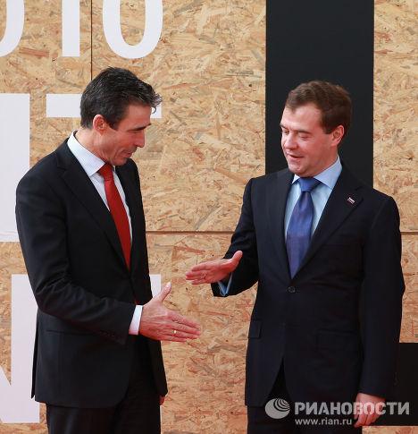 Д.Медведев прибыл в Лиссабон для участия в Совете Россия–НАТО