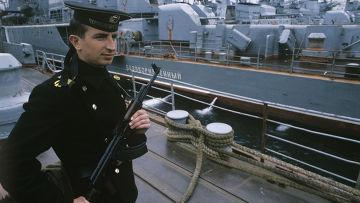 На сторожевом корабле