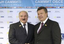 Президент Украины Виктор Янукович пожелал Александру Лукашенко победы на предстоящих выборах на саммите ОБСЕ