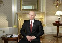 Владимир Путин дал интервью телекомпании CNN