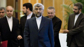 Глава иранской делегации Саид Джалили на переговораж в Женеве по поводу ядерной программы Ирана