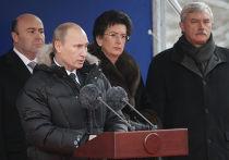 В.Путин принял участие в церемонии открытия памятника