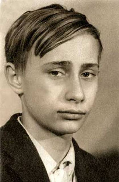 детская фотография путина