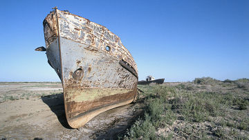 Аральское море - бессточное солёное озеро в Средней Азии, на границе Казахстана и Узбекистана.  С 1960-х годов XX...
