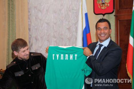 Встреча Рамзана Кадырова с Рудом Гуллитом
