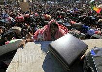 Ситуация на границе Ливии и Туниса стала критической