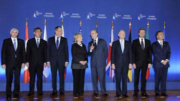 двухдневная встреча министров иностранных дел «Большой восьмерки» в Париже