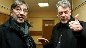 Артемий Троицкий и Юрий Шевчук в Гагаринском суде Москвы