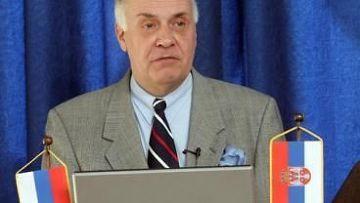 Чрезвычайный и Полномочный Посол России в Сербии Александр Конузин