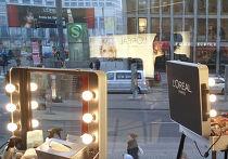 Реклама француской косметики Loreal в Германии