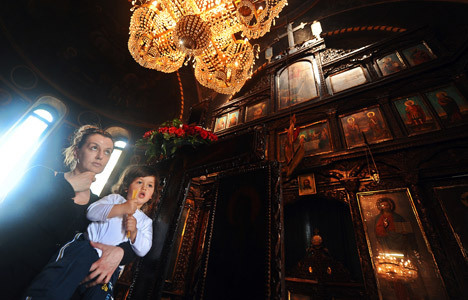 Православная церковь Македонии празднует Страстную неделю по Юлианскому календарю.