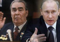 сходстве между премьер-министром Владимиром Путиным и бывшим советским лидером Леонидом Брежневым