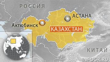 Взрыв произошел у здания комитета нацбезопасности в казахстанском Актюбинске