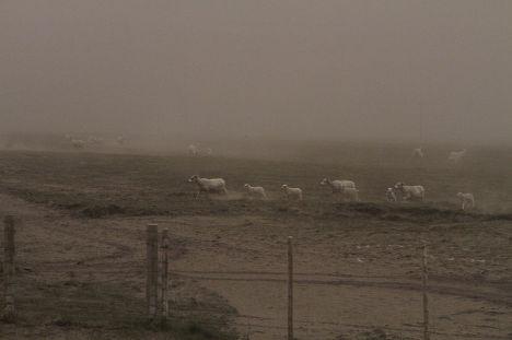 последствия извержения вулкана Гримсвотн в Исландии