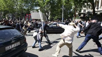 Протестная акция дубинок – итоги трехдневных беспорядков в Тбилиси
