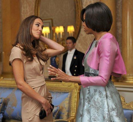 Супруга американского президента Мишель Обама лично поздравила с замужеством герцогиню Кембриджскую Кэтрин