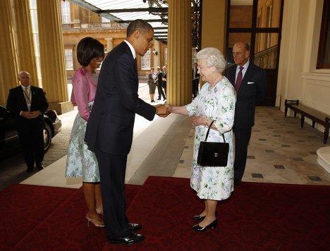 Барак и Мишель Обама в Букингемском дворце