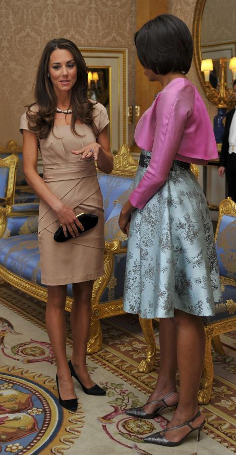 Кэтрин, герцогиня Кембриджская и Мишель Обама