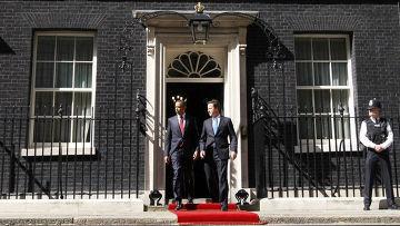 Барак Обама и Дэвид Кемерон