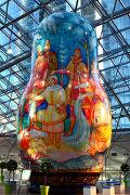 """24 мая в ТРЦ """"АФИМОЛЛ Сити"""" открывается уникальная экспозиция матрешек, которые выставлялись на Российской национальной выставке в Париже в 2010 году"""