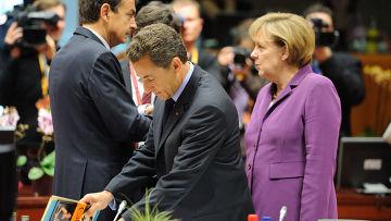 Меркель, Саркози, Сапатеро