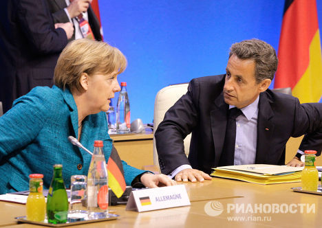 Ангела Меркель, Николя Саркози