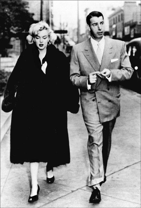 Мэрилин Монро со вторым мужем Джо ДиМаджио