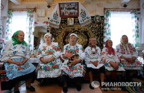 Подготовка к народному празднику Юрье в Гомельской области