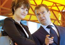 Президенты РФ и Швейцарии на церемонии запуска завода в Коломне