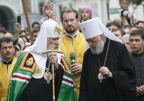 Патриарх Московский и всея Руси Алексий II и предстоятель Украинской православной церкви Митрополит Киевский и всея Украины Владимир