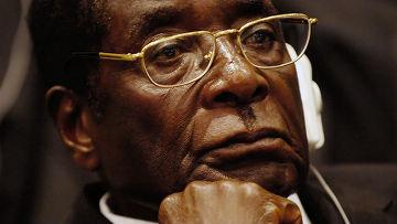 Роберт Мугабе, президент Зимбабве