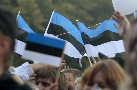 Празднование 20 годовщины восстановления независимости Эстонии