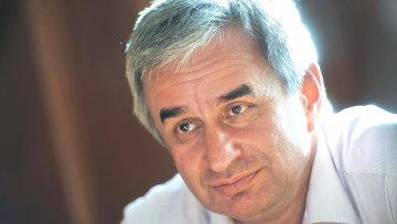 Кандидат в президенты Республики Абхазия Рауль Хаджимба