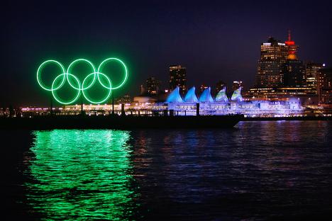 Ванкувер в преддверии Олимпиады 2010