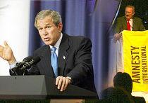 Amnesty International против Джорджа Буша