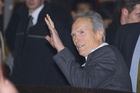 Американский киноактёр и кинорежиссёр Клинт Иствуд
