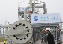 Открытие газопровода «Северный поток» в Германии, ноябрь 2011 г.