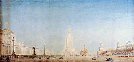 Москва невоплощенная