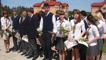 Выпуск лицея «Подмосковный» 2011