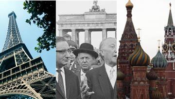 Париж, Берлин и Москва