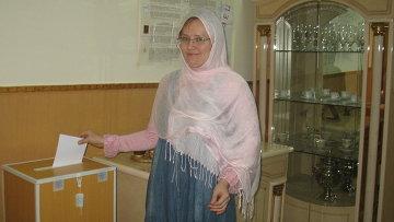 Выборы в Госдуму на избирательном участке посольства РФ в Хартуме