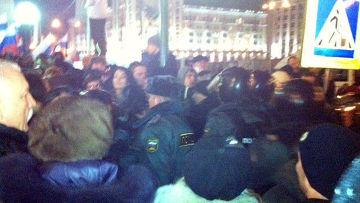 Ситуация на Триумфальной площади