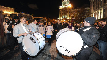 Ситуация на Триумфальной площади в Москве