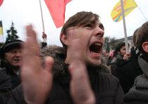 Акция протеста против фальсификации выборов в Калининграде