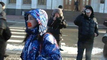 """Акция российских граждан """"За справедливые выборы"""" в Хабаровске"""