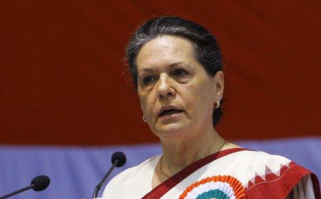 Президент правящей партии Индийский национальный конгресс (ИНК) 64-летняя Соня Ганди