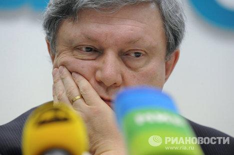 """Пресс-конференция руководителей партии """"Яблоко"""""""