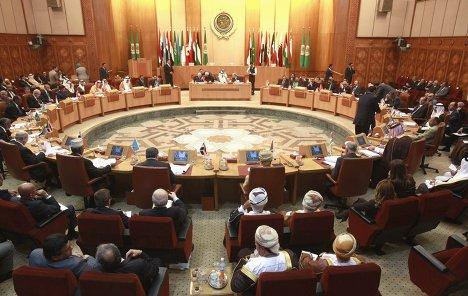 Заседание министров иностранных дел Лиги арабских государств в Каире