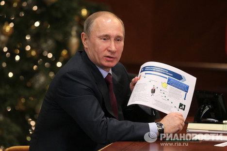 Д.Медведев провел совещании по экономическим вопросам