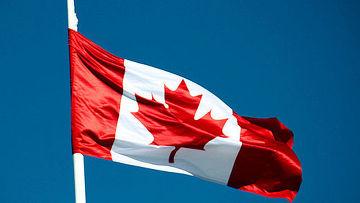 канада флаг фото